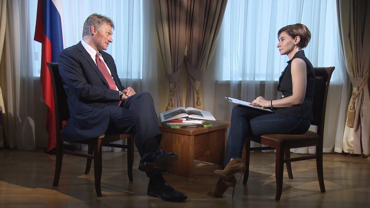 RTД: Дмитрий Песков о санкциях США, встрече Путина с Трампом и суверенном интернете