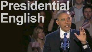 Reduction in Presidential Speeches -- American English Pronunciation
