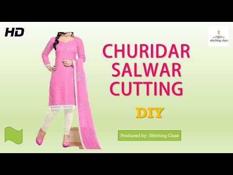 Churidar cutting