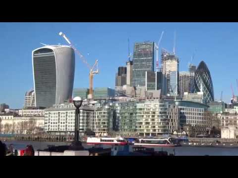 London Skyline The Square Mile January 19 2018