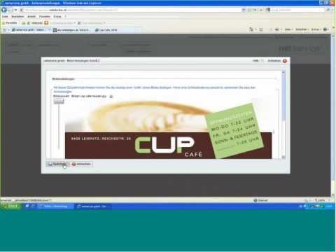 Website-Box CMS: Ein Design auf Basis einer Vorlage erstellen