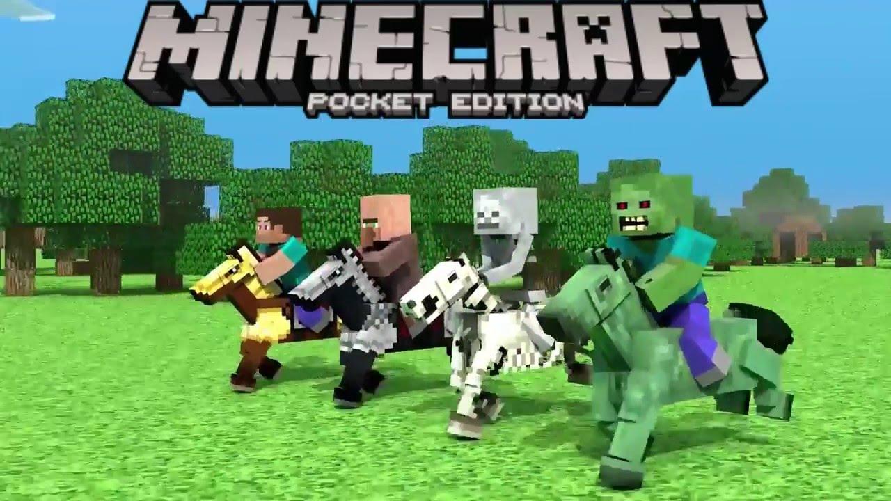 Minecraft PE Caballos Osos Polares Bolas De Fuego - Skin para minecraft pe fuego