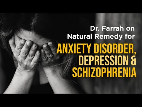 Minerals & Natural Remedy for Anxiety Disorder, Depression & Schizophrenia | Dr. Farrah Healthy Tips
