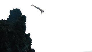 Cliff Jumping Off Lava Rocks | Maui, Hawaii