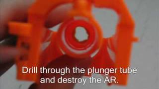 How to Remove the Air Restrictor in a Nerf Raider