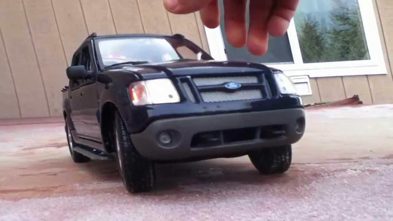 1 18 Maisto Ford Explorer Sport Trac Youtube