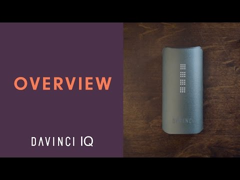 Full Overview of The DaVinci IQ Portable Vaporizer