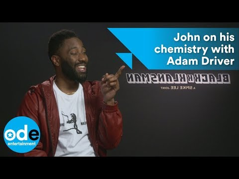 BlacKkKlansman: John David Washington on his chemistry with Adam Driver