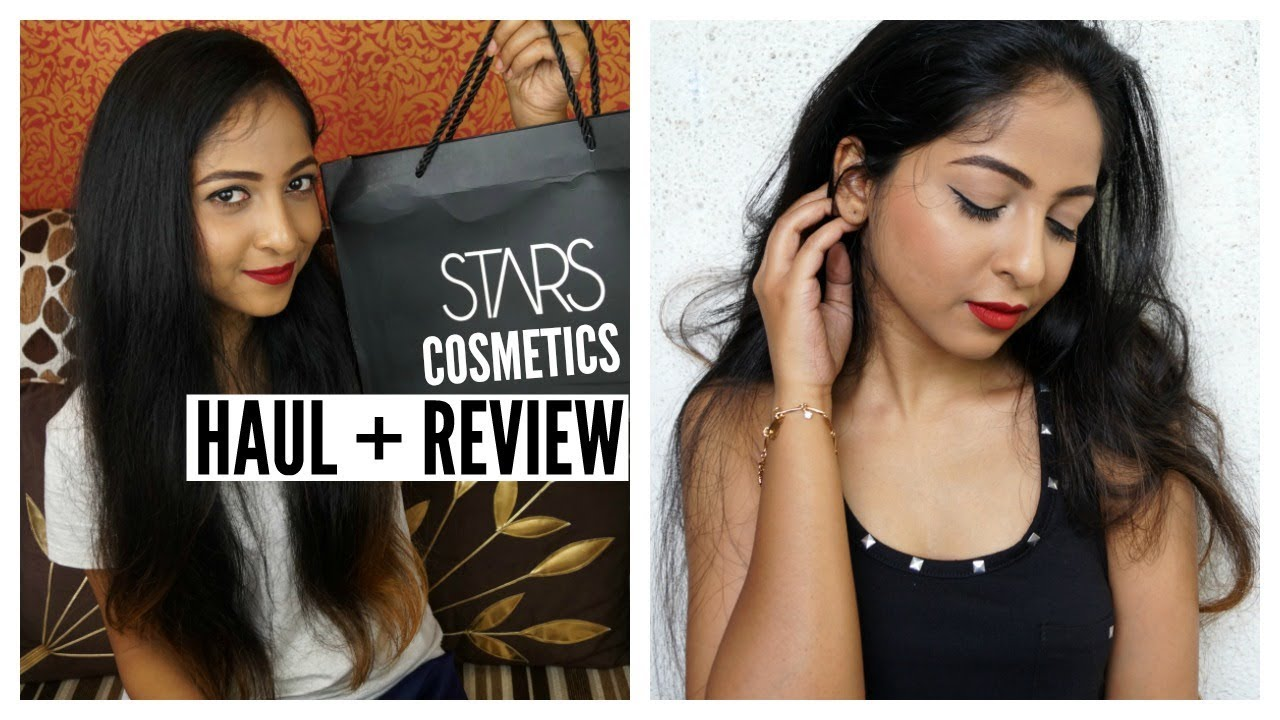 STARS COSMETICS INDIA Haul + Review | Foundation, Blush, Liquid Lipstick |  Stacey Castanha