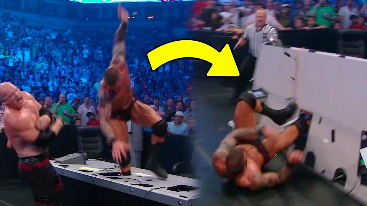 8 MOMENTOS VERGONZOSOS OCURRIDOS EN WWE | Parte 2