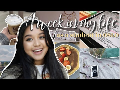A WEEK IN MY LIFE as a student in OSLO   VLOG 1   ERN   coronatest, moving, roomtour