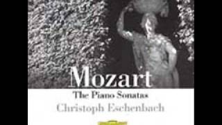 Eschenbach - Mozart, Piano Sonata K.330 in C Major - I Allegro moderato