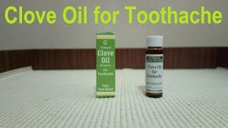 Clove Oil, Natural, Essence for Toothache