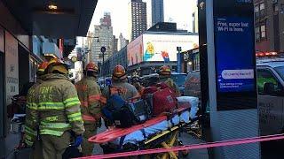 Anschlagsversuch in New Yorker U-Bahn: Verdächtiger festgesetzt