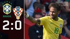 Neymar feiert Traum-Comeback: Brasilien - Kroatien 2:0 | Highlights | Länderspiele | DAZN