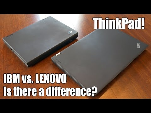 ThinkPad: IBM vs. Lenovo design