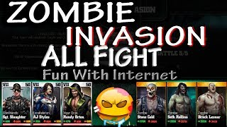 WWE IMMORTALS ZOMBIE INVASION All Fight (Invasion 1-6) iOS/Android