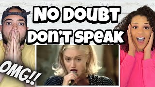 THIS IS GWEN STEFANI?!!..   FIRST TIME HEARING No Doubt - Don't Speak REACTION