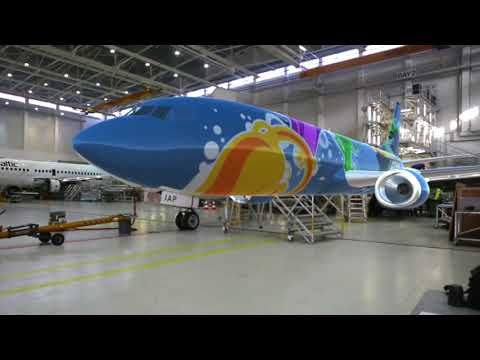 Magnetic MRO is starting to use Augmented Reality for Aircraft Livery Visualization