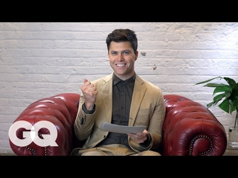 Colin Jost Gets ButtDialed by Lorne Michaels  GQ & Saturday Night Live