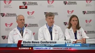 RAW: Nebraska Medical Center officials prepare to care for Ebola patient