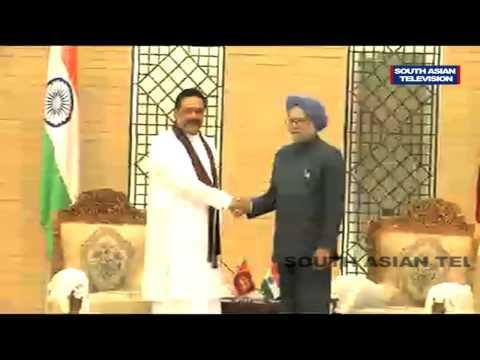 Indian PM Ignores Tamil sentiments, meets Sri Lankan Prez