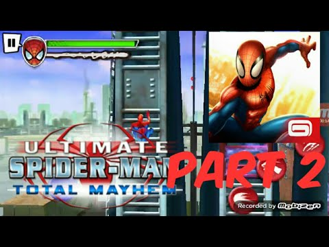 Spider-Man Total Mayhem Andriod/IOS GAMEPLAY PART 2 |Adobo Kid