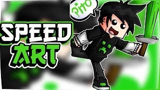 Speed  Art #6 Pa Gravity Play ❤❤ (Dibujo de Minecraft)