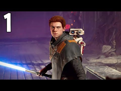 Star Wars Jedi Fallen Order - Full Playthrough Part 1 - THE BEGINNING (FULL GAME)