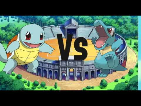 Squirtle vs