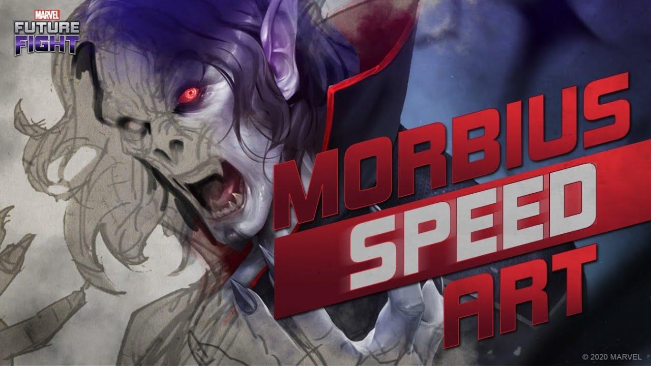MARVEL Future Fight Morbius Speed Art Video