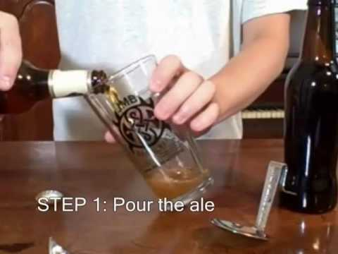 Make How to pour a Black & Tan Pictures