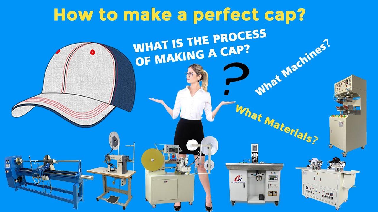 How to make a baseball cap? How to make a snapback cap ...
