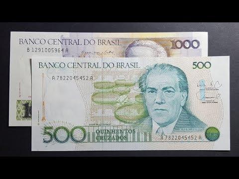 Brazil's Pretty Cruzado Banknotes