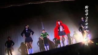 Red Sword (Hontô wa eroi Gurimu dôwa: reddo suwôdo) theme-song dance video - Momoka Nishina