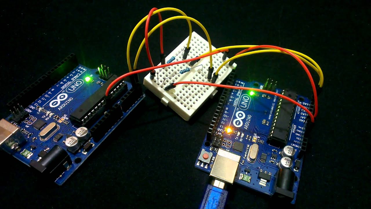 Communication between Arduinos on I2C using Wire Library
