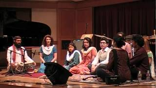 Raga Hindolam - Lamont School of Music North Indian Ensemble