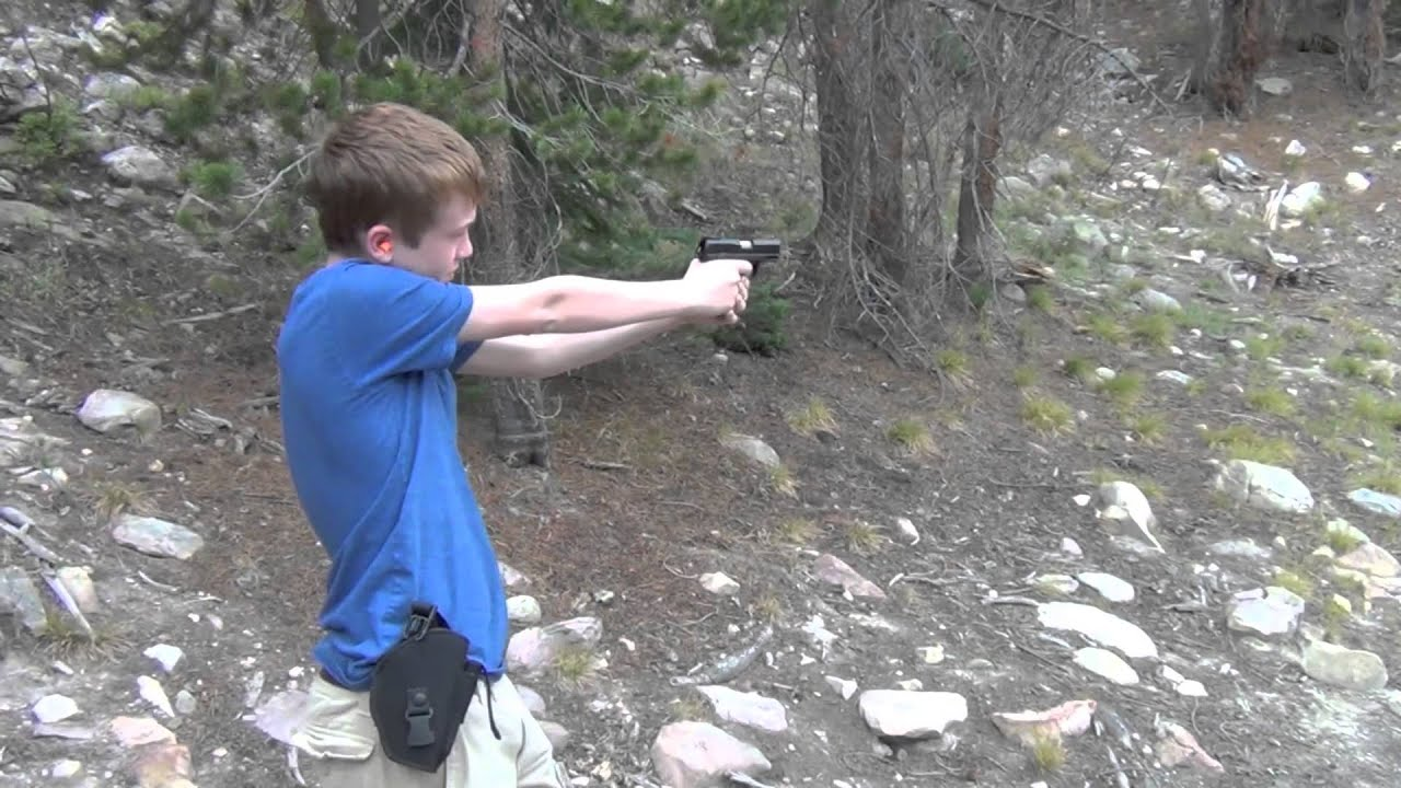 Ruger SR22 Pistol - range review - YouTube