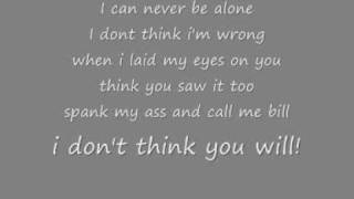 Nomy Spank my ass with lyrics