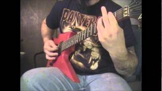 MERCYFUL FATE - DOOMED by the LIVING DEAD guitar cover
