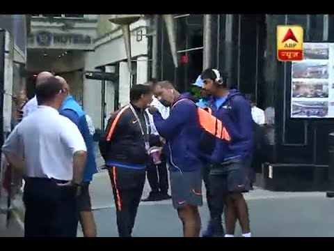 Champions Trophy: Indian cricket team leaves for stadium