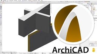 Falak - ArchiCAD 16 - kezdeti lépések