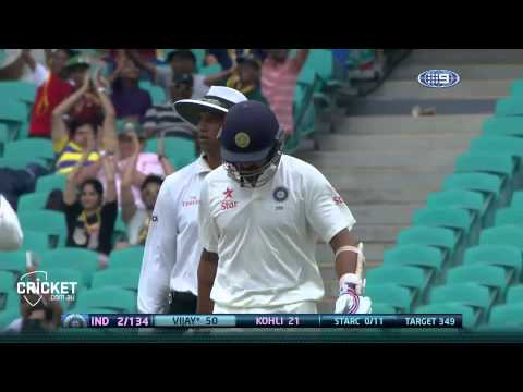 Fourth Test, day five highlights
