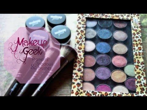 Makeup Geek Pigments, Shadows & Brushes!