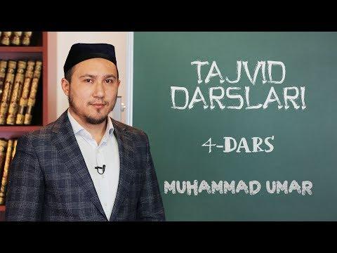 Tajvid darslari | #4 | Iqlob | Muhammad Umar