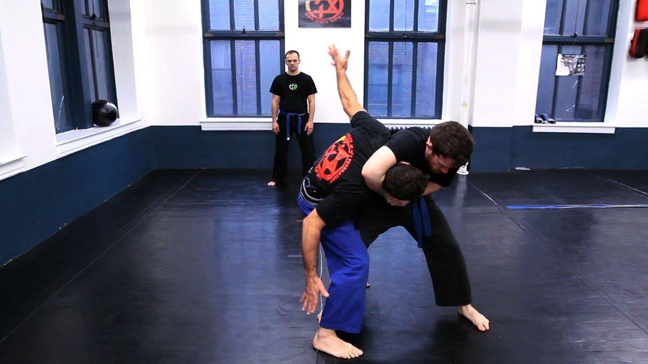 How to Defend against Side Headlock | Krav Maga Defense - YouTube