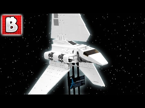 Brick Vault One Year Anniversary!!! Imperial Shuttle UCS 10212  | Unbox Build Time Lapse Review