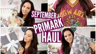 PRIMARK Haul // September | velvetgh0st ♡ Thumbnail
