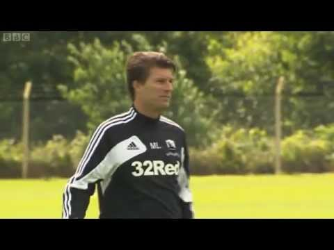 Michael Laudrup's First Training Session with Swansea City 11th July 2012