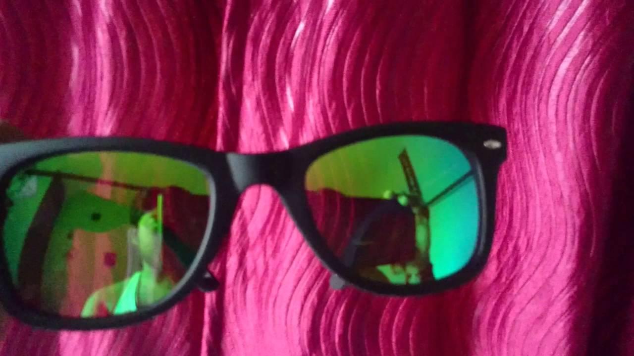 dda71002411 Vincent Chase Wayfarer Sunglasses Unboxing - YouTube